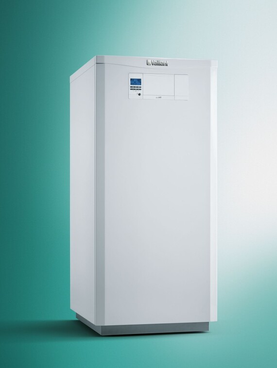 Vaillant ecoVIT gas fired floor standing condensing heater standing alone