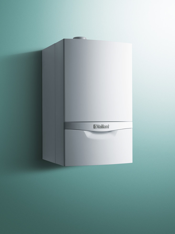 Front view of ecoTEC plus gas boiler 48-65kW