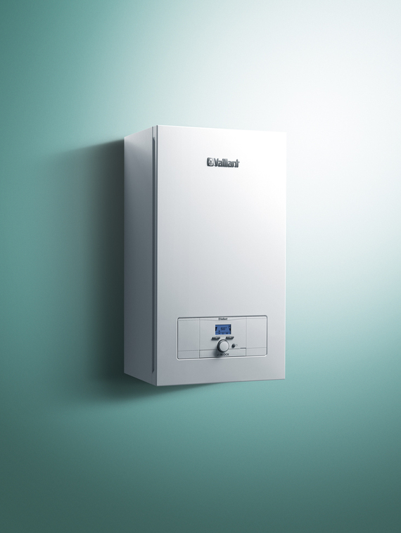 The electrical wall hung boiler eloBLOCK for complete independence of gas or other fossil fuels