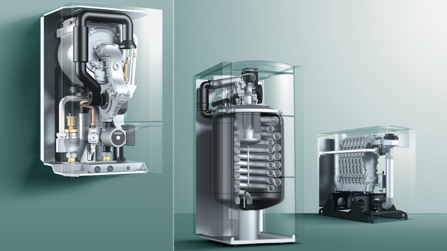 Condensing boilers achieve a much higher efficiency – Vaillant