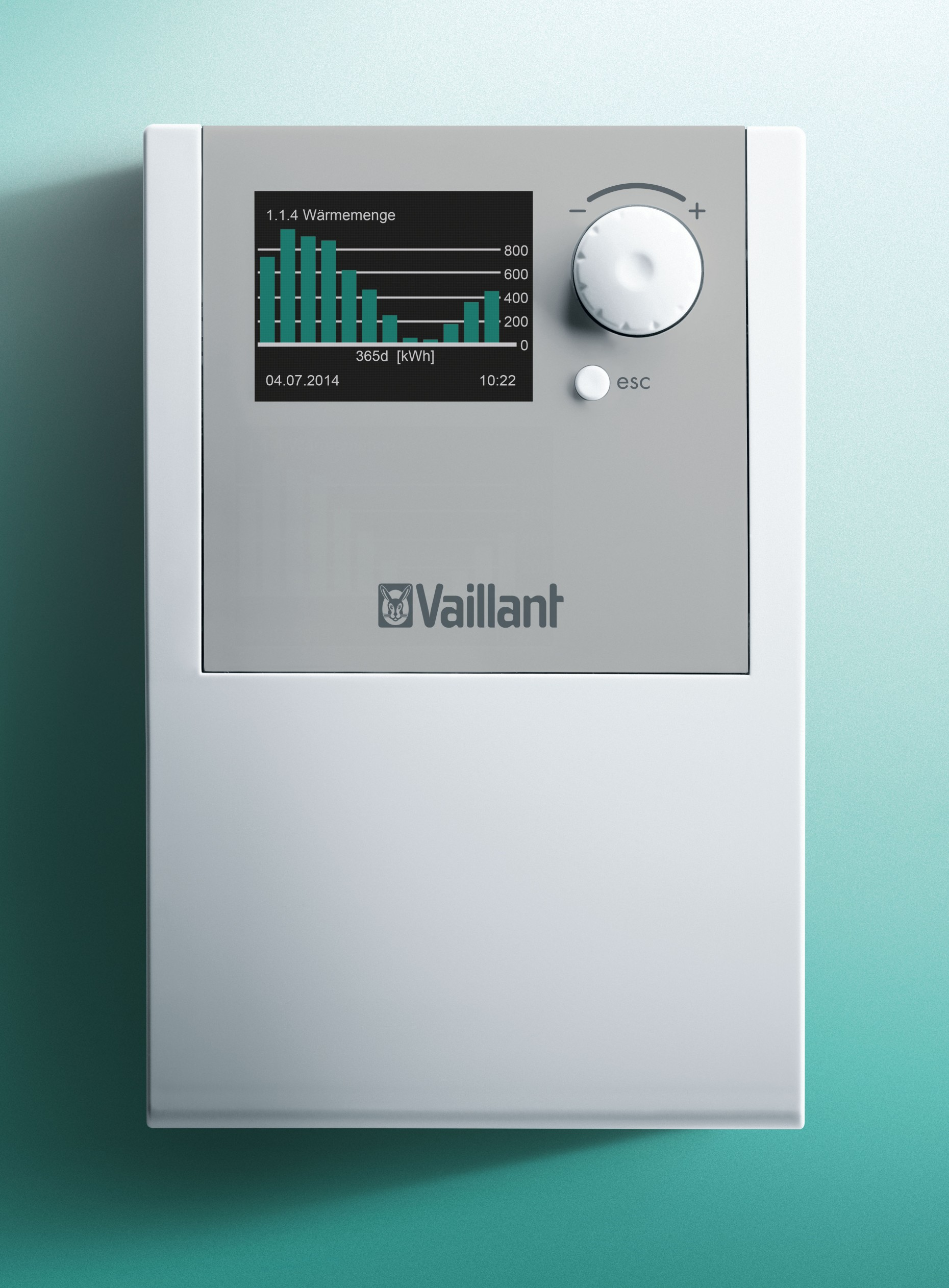 Auromatic 570 Control For Solar Supported Creation Of